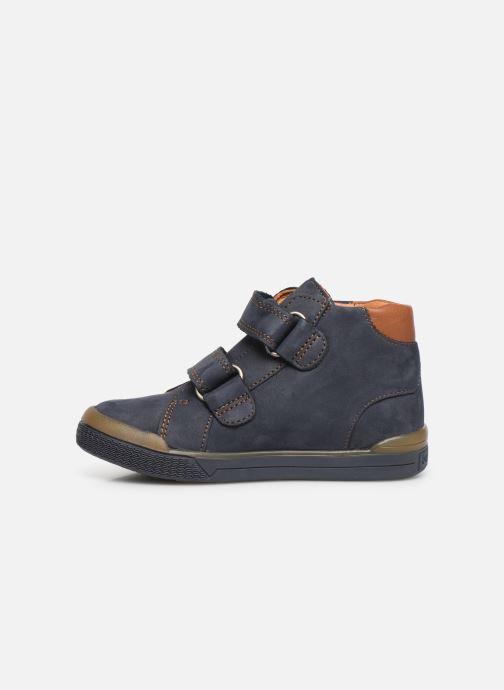 Boots en enkellaarsjes Babybotte B3Velcro Blauw voorkant