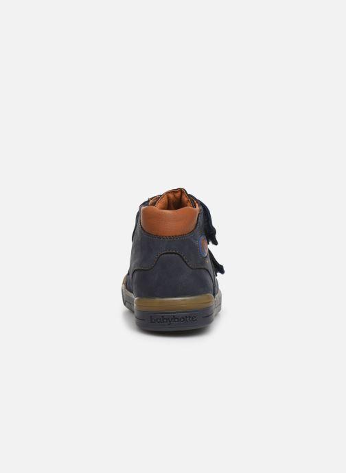 Boots en enkellaarsjes Babybotte B3Velcro Blauw rechts