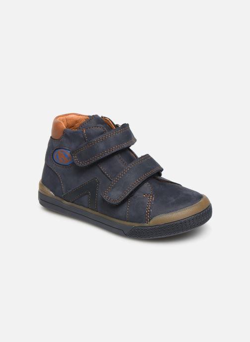 Ankelstøvler Babybotte B3Velcro Blå detaljeret billede af skoene