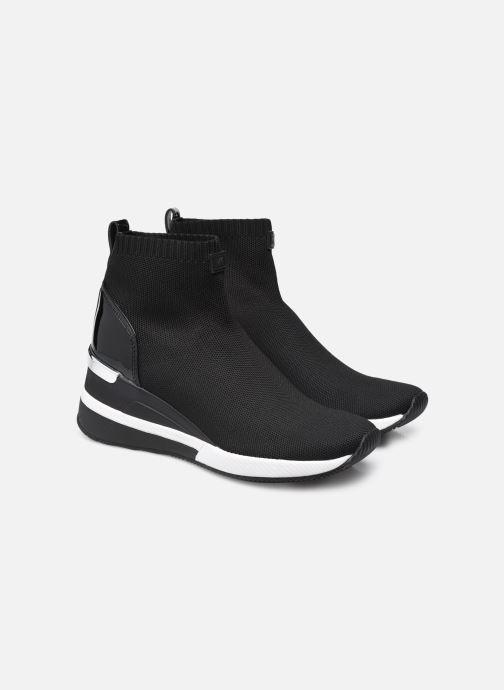 Sneakers Michael Michael Kors Skyler Bootie Nero immagine 3/4