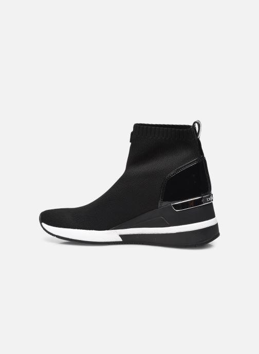Sneaker Michael Michael Kors Skyler Bootie schwarz ansicht von vorne