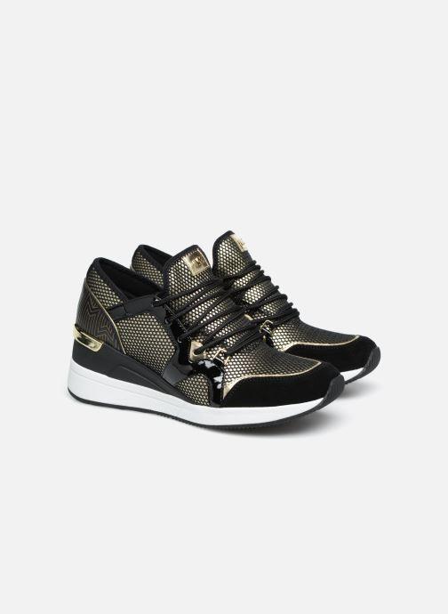 Sneakers Michael Michael Kors Liv Trainer Oro e bronzo immagine 3/4