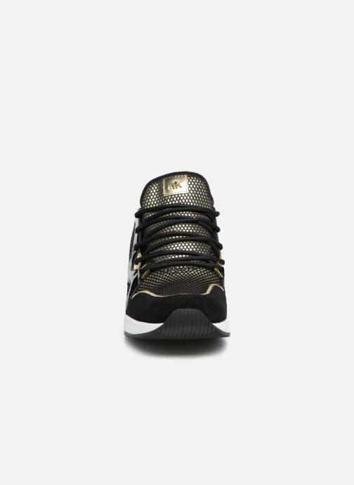 Sneaker Michael Michael Kors Liv Trainer gold/bronze schuhe getragen