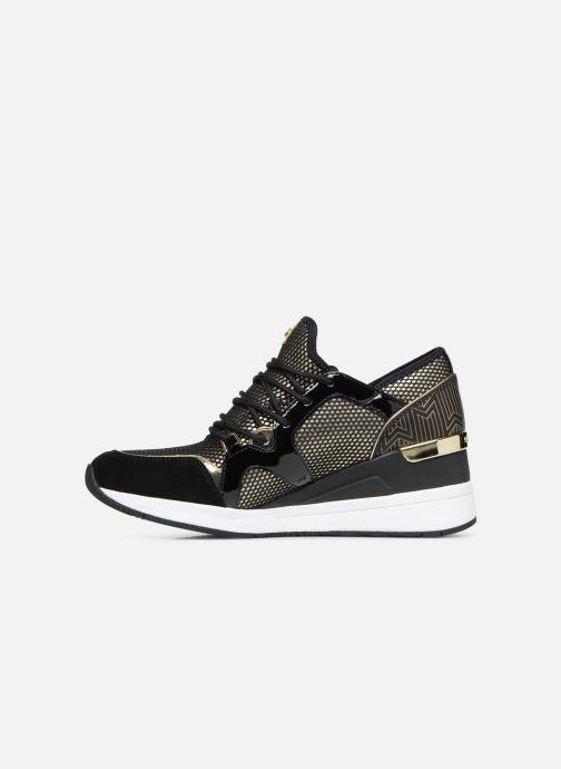 Sneaker Michael Michael Kors Liv Trainer gold/bronze ansicht von vorne