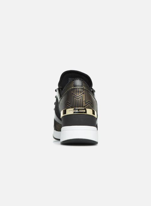 Sneakers Michael Michael Kors Liv Trainer Oro e bronzo immagine destra