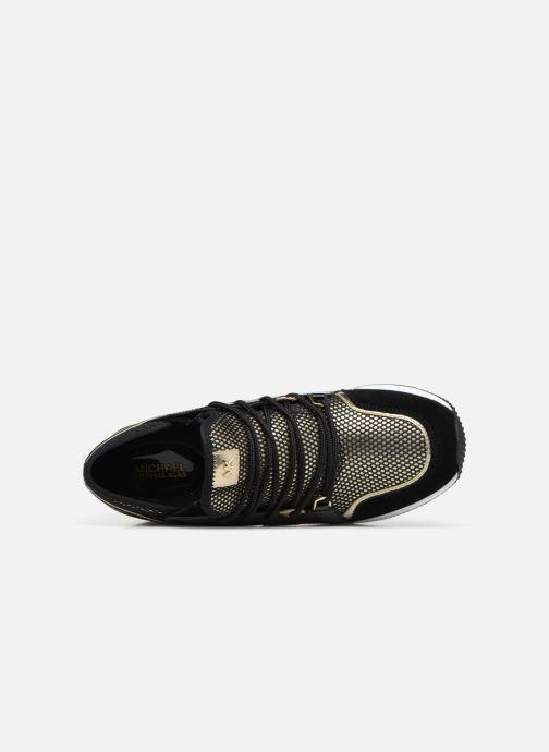 Sneakers Michael Michael Kors Liv Trainer Oro e bronzo immagine sinistra