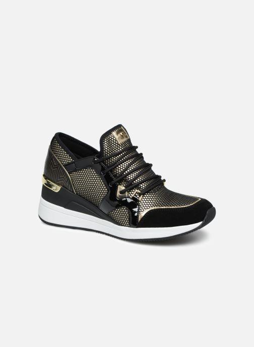 18c219a3 Sneakers Michael Michael Kors Liv Trainer Guld og bronze detaljeret billede  af skoene