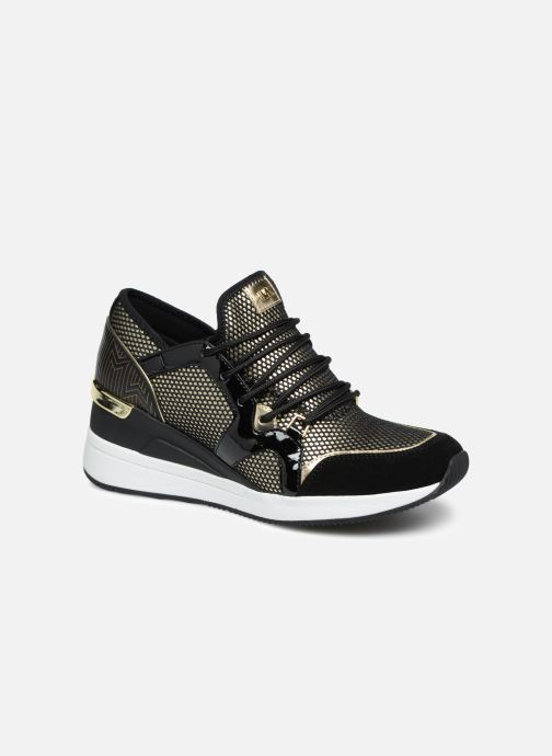 Baskets Michael Michael Kors Liv Trainer Or et bronze vue détail/paire