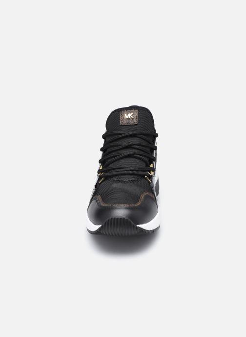 Baskets Michael Michael Kors Liv Trainer Noir vue portées chaussures