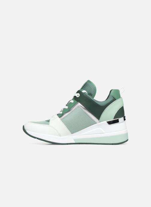 Sneakers Michael Michael Kors Georgie Trainer Groen voorkant