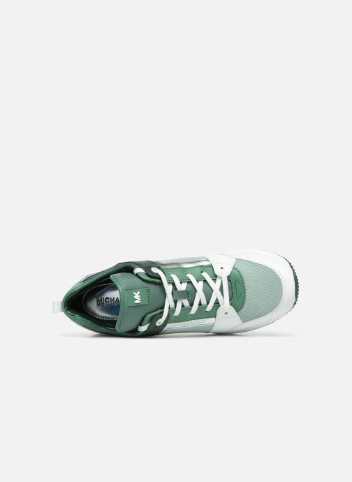 Baskets Michael Michael Kors Georgie Trainer Vert vue gauche
