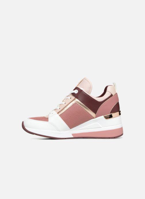 Sneaker Michael Michael Kors Georgie Trainer rosa ansicht von vorne