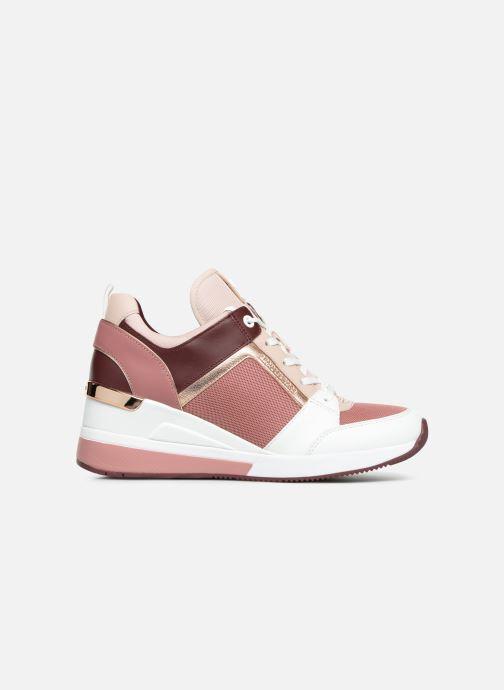 Sneaker Michael Michael Kors Georgie Trainer rosa ansicht von hinten