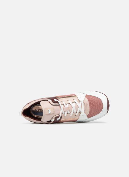 Sneaker Michael Michael Kors Georgie Trainer rosa ansicht von links