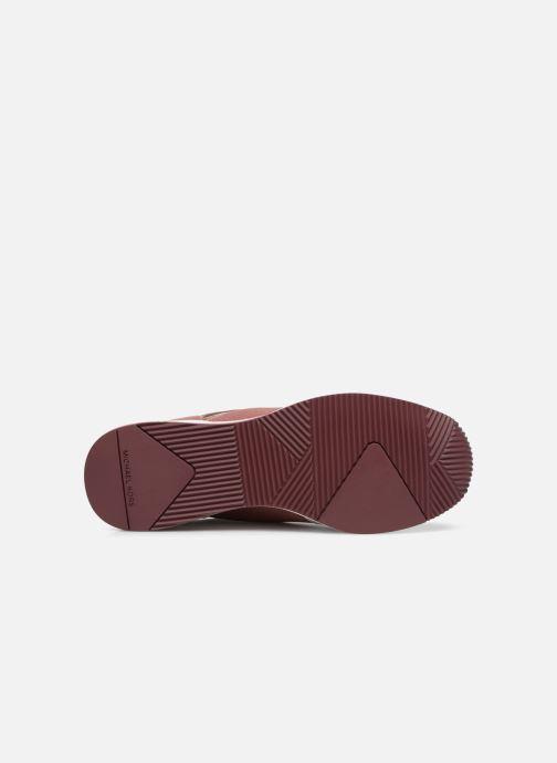 Sneakers Michael Michael Kors Georgie Trainer Roze boven