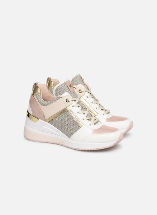 Baskets Michael Michael Kors Georgie Trainer Rose vue 3/4