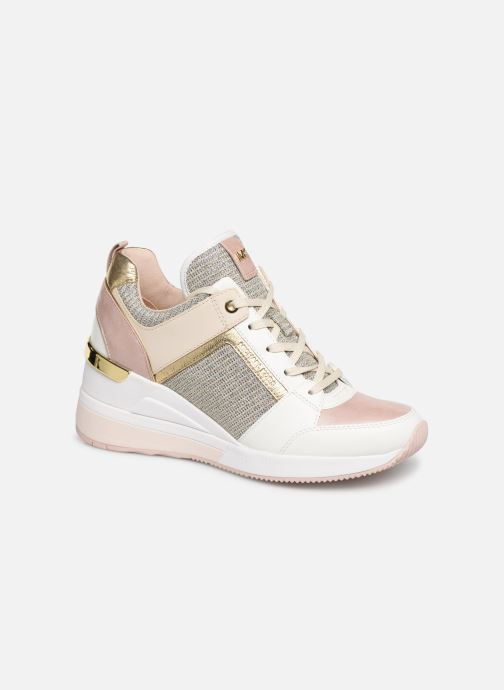 Baskets Michael Michael Kors Georgie Trainer Rose vue détail/paire