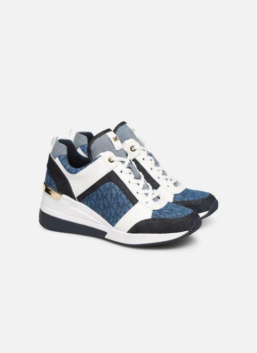 Sneaker Michael Michael Kors Georgie Trainer blau 3 von 4 ansichten