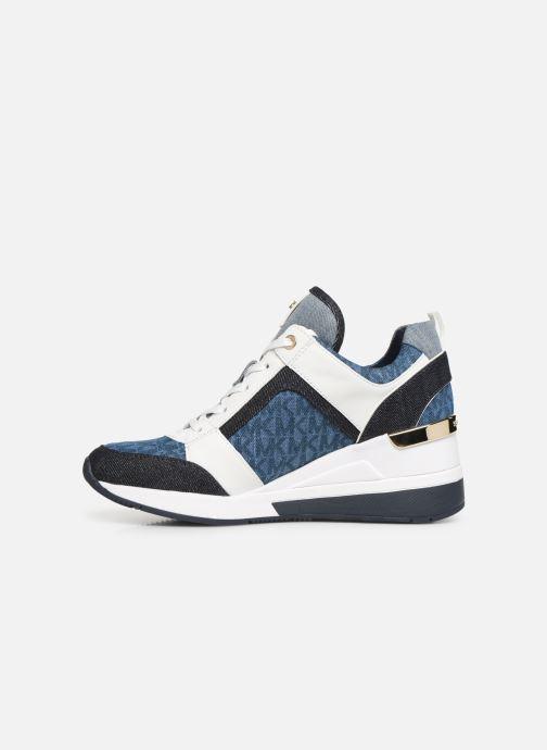 Sneaker Michael Michael Kors Georgie Trainer blau ansicht von vorne