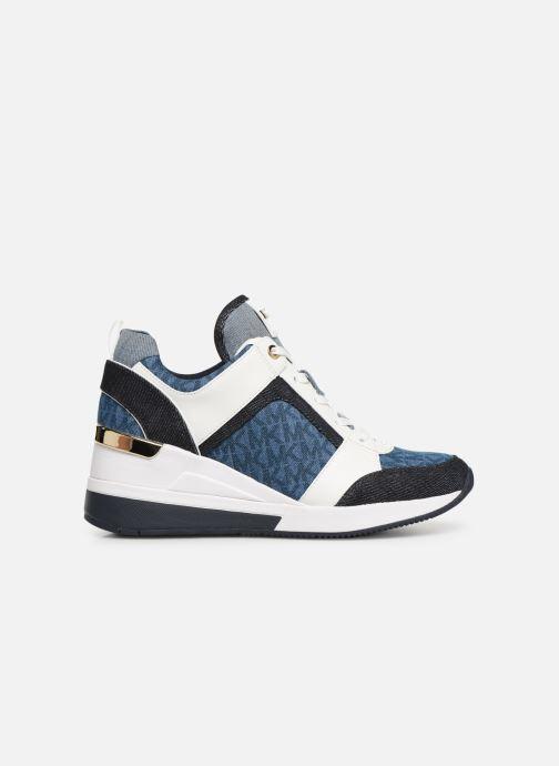 Sneaker Michael Michael Kors Georgie Trainer blau ansicht von hinten