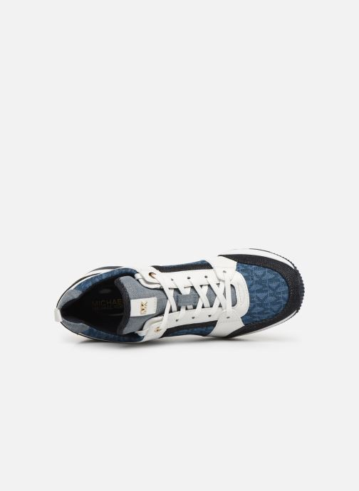 Sneaker Michael Michael Kors Georgie Trainer blau ansicht von links
