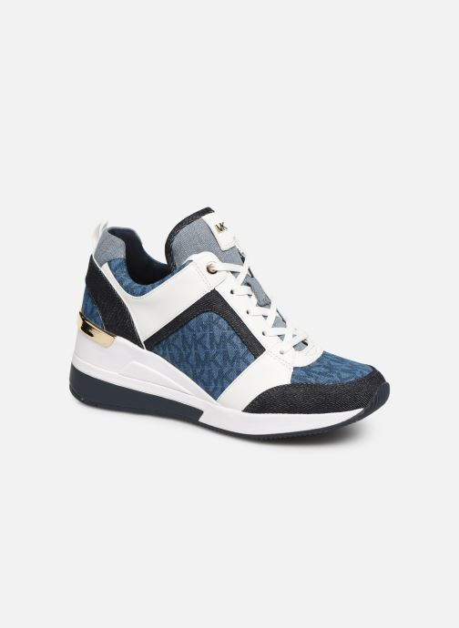 Baskets Michael Michael Kors Georgie Trainer Bleu vue détail/paire