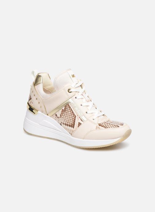 Sneakers Michael Michael Kors Georgie Trainer Beige detaljeret billede af skoene