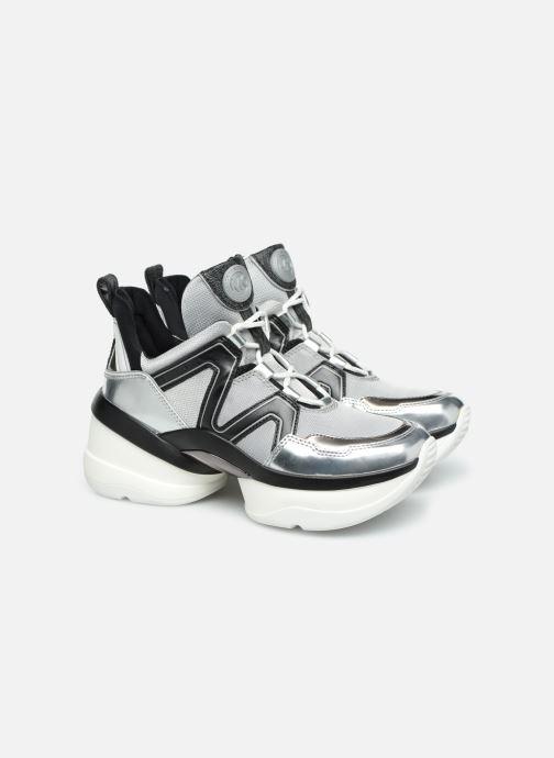 Sneakers Michael Michael Kors Olympia Trainer Zilver 3/4'