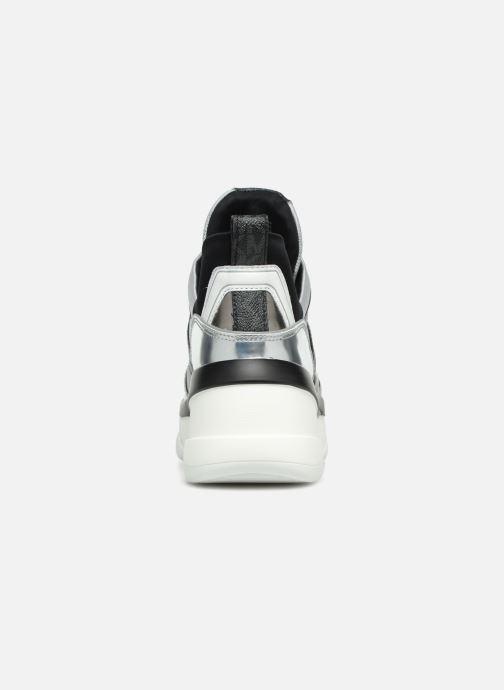 Sneakers Michael Michael Kors Olympia Trainer Zilver rechts