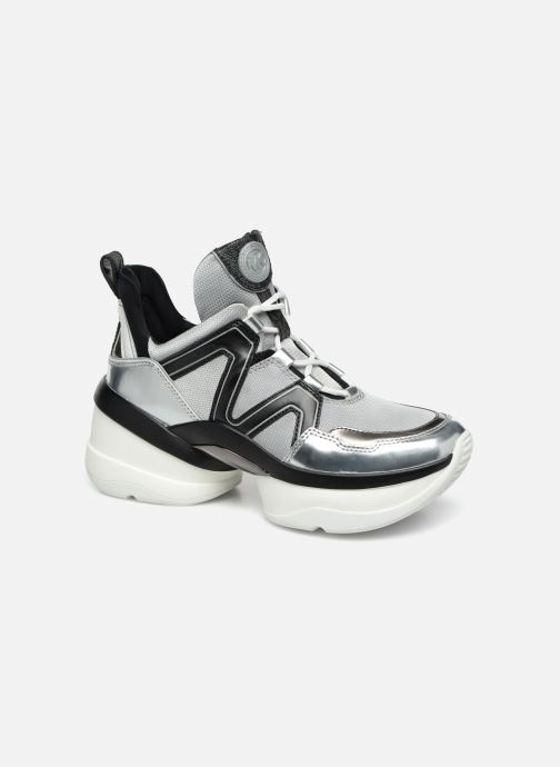 Sneakers Michael Michael Kors Olympia Trainer Zilver detail