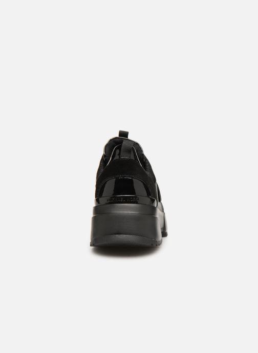 Sneakers Michael Michael Kors Cosmo Trainer Zwart rechts