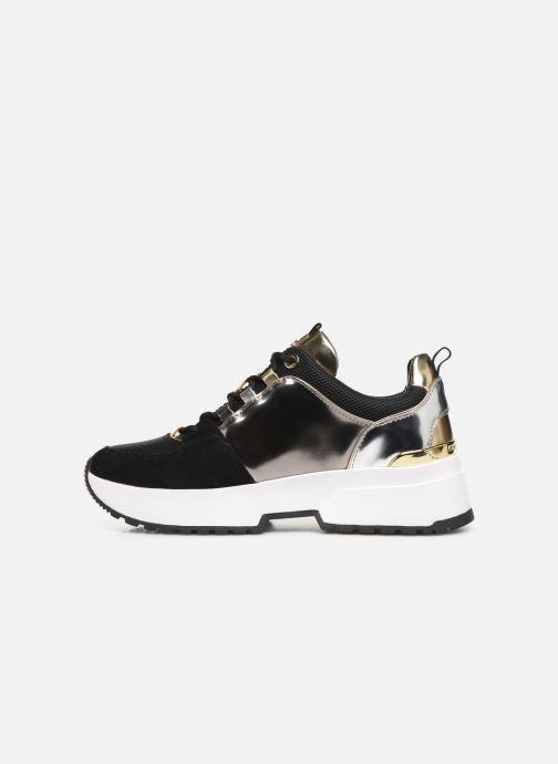 Sneakers Michael Michael Kors Cosmo Trainer Oro e bronzo immagine frontale