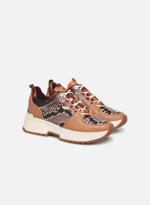 Sneakers Michael Michael Kors Cosmo Trainer Brun 3/4 billede