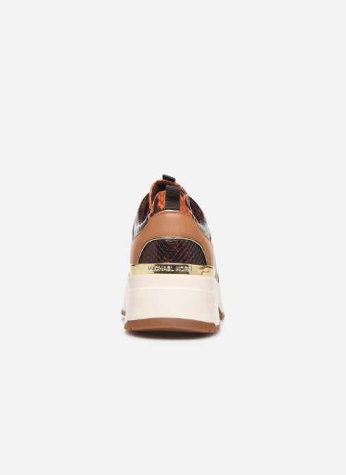 Sneakers Michael Michael Kors Cosmo Trainer Brun Se fra højre
