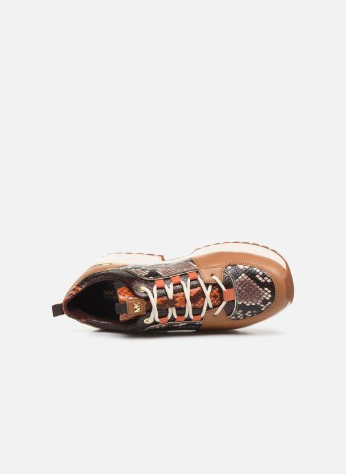 Sneakers Michael Michael Kors Cosmo Trainer Brun se fra venstre