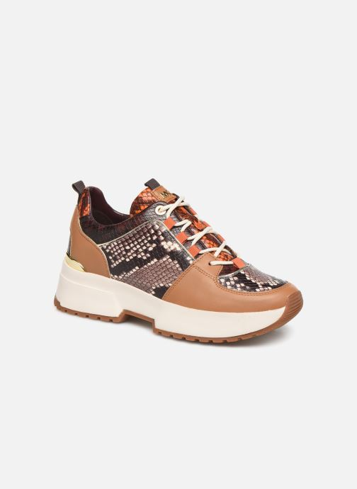 Sneakers Michael Michael Kors Cosmo Trainer Brun detaljeret billede af skoene