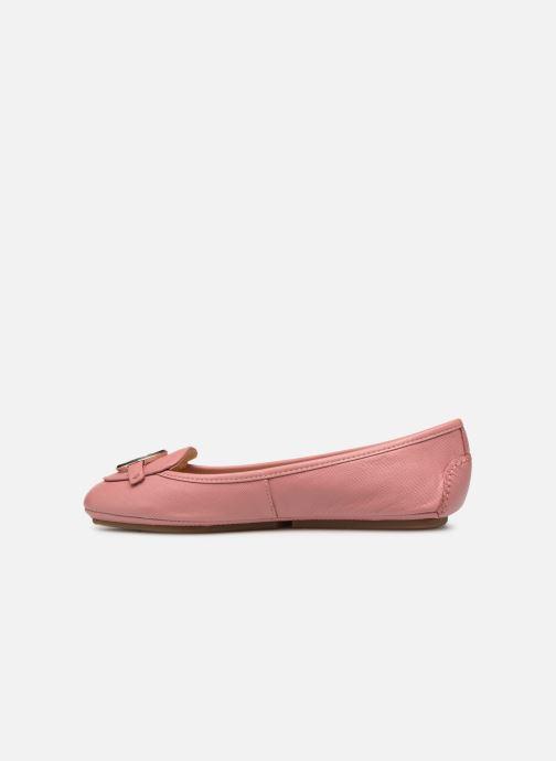 Ballerinas Michael Michael Kors Lillie Moc rosa ansicht von vorne