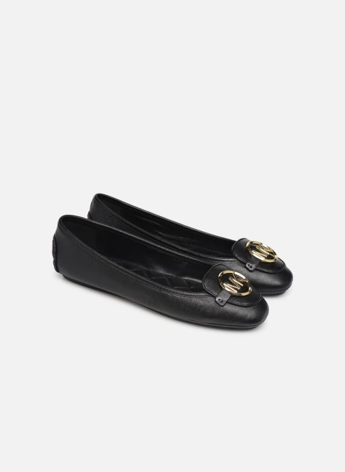 Ballet pumps Michael Michael Kors Lillie Moc Black 3/4 view