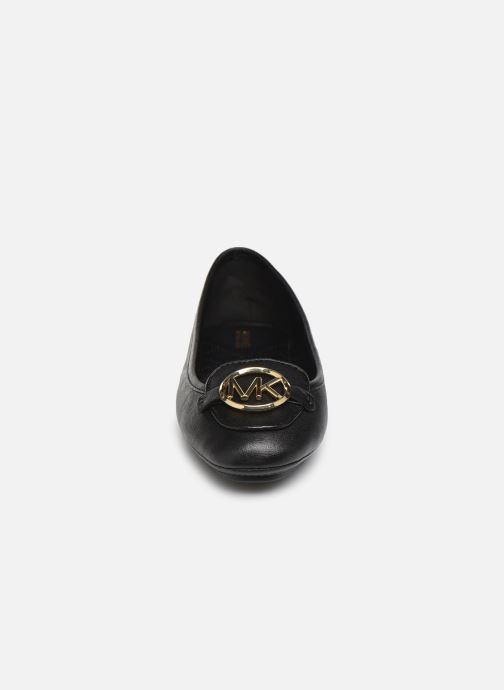 Ballerinaer Michael Michael Kors Lillie Moc Sort se skoene på