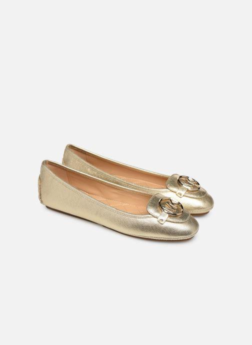 Ballet pumps Michael Michael Kors Lillie Moc Bronze and Gold 3/4 view