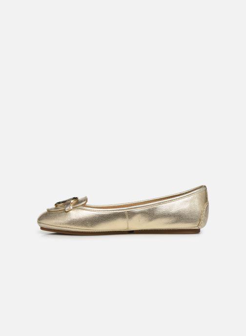 Ballerinaer Michael Michael Kors Lillie Moc Guld og bronze se forfra