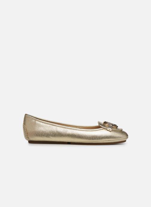Bailarinas Michael Michael Kors Lillie Moc Oro y bronce vistra trasera