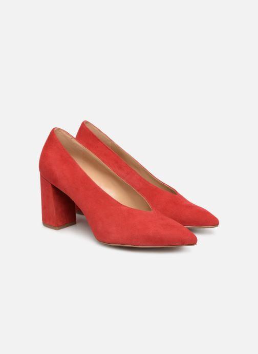 Zapatos de tacón Michael Michael Kors Cambria Pump Rojo vista 3/4