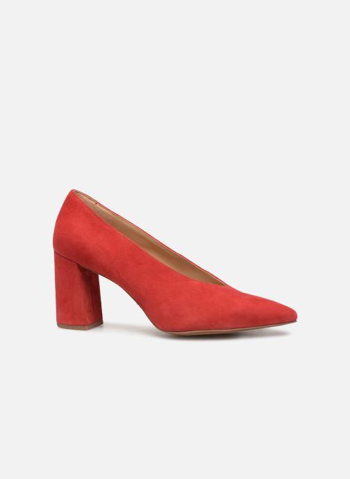 Zapatos de tacón Michael Michael Kors Cambria Pump Rojo vistra trasera