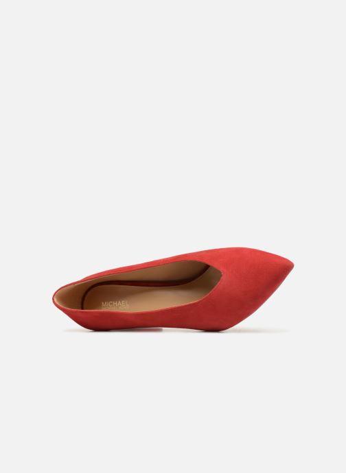 Zapatos de tacón Michael Michael Kors Cambria Pump Rojo vista lateral izquierda