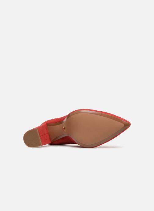 Zapatos de tacón Michael Michael Kors Cambria Pump Rojo vista de arriba