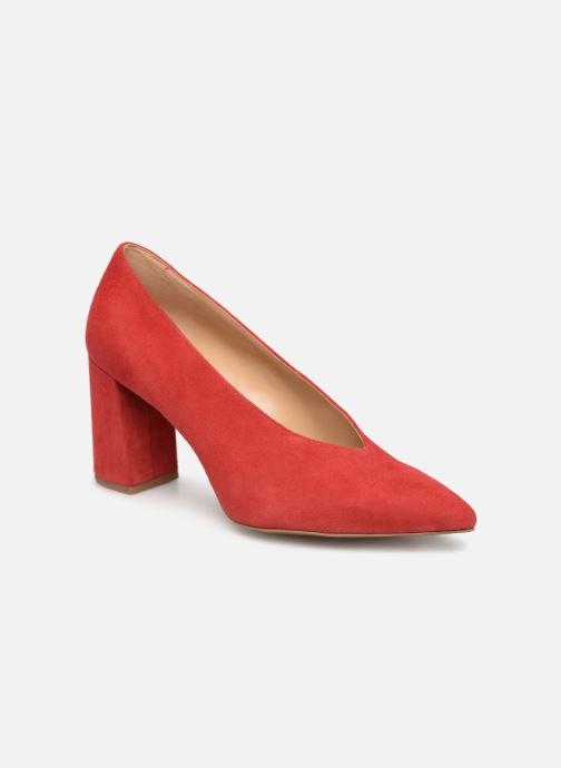 Zapatos de tacón Michael Michael Kors Cambria Pump Rojo vista de detalle / par