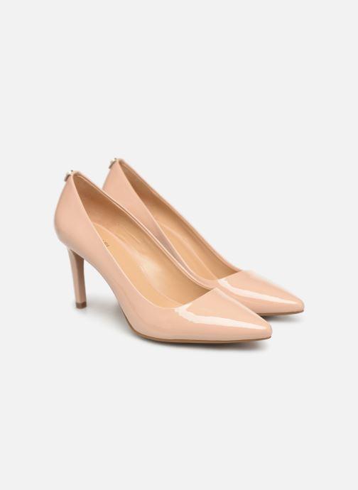 Zapatos de tacón Michael Michael Kors Dorothy Flex Pump Beige vista 3/4