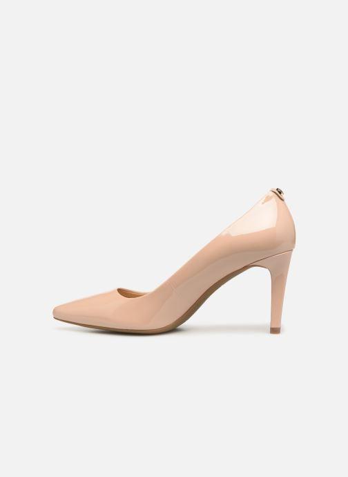 Zapatos de tacón Michael Michael Kors Dorothy Flex Pump Beige vista de frente