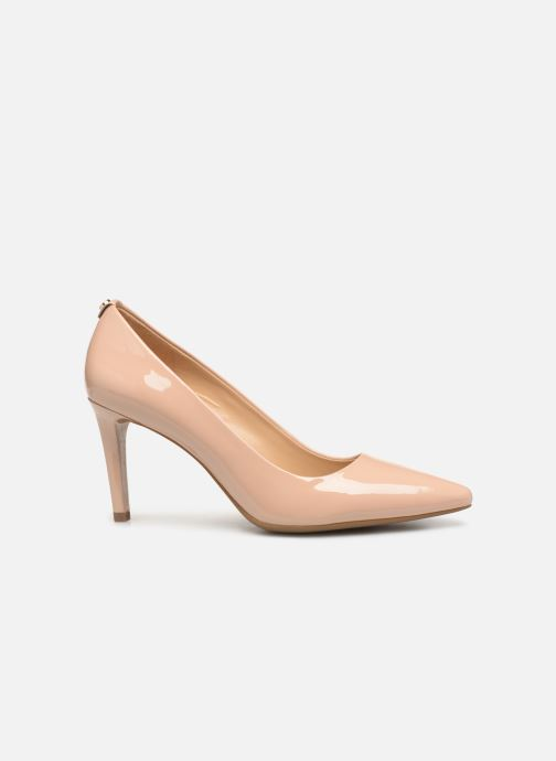 Zapatos de tacón Michael Michael Kors Dorothy Flex Pump Beige vistra trasera